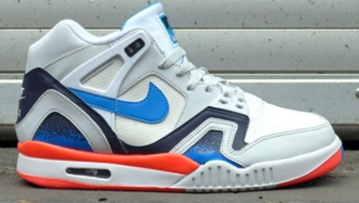 super popular 1eaef a9927 Nike Air Tech Challenge II - White Red-Blue