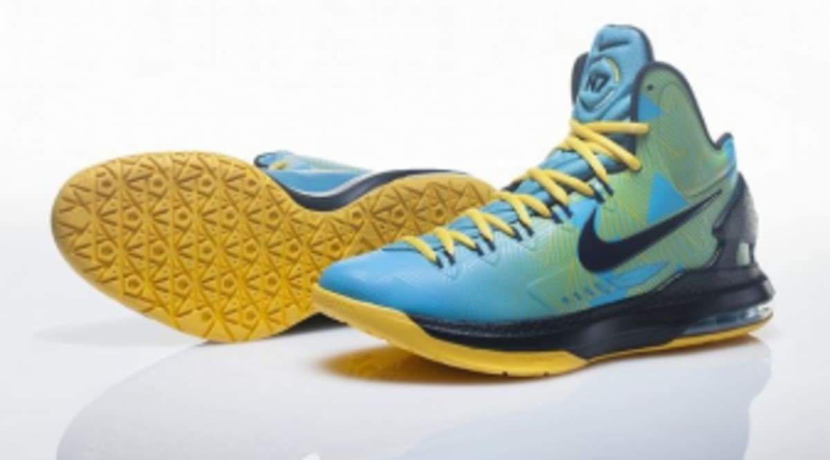 new product e71ad 6d0fd Official Look At The Native-Printed Nike N7 KD V   Sole Collector