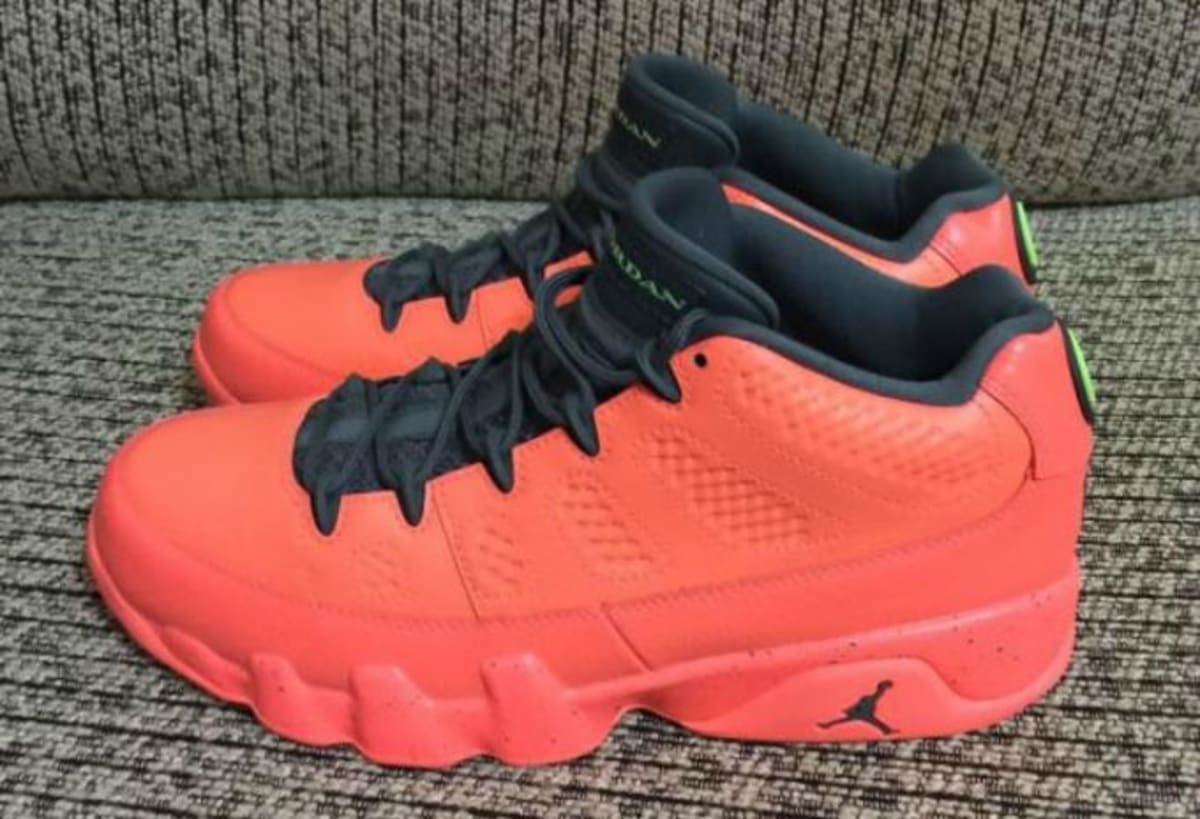 There's a Red Air Jordan 9 Low-Top Releasing This Year