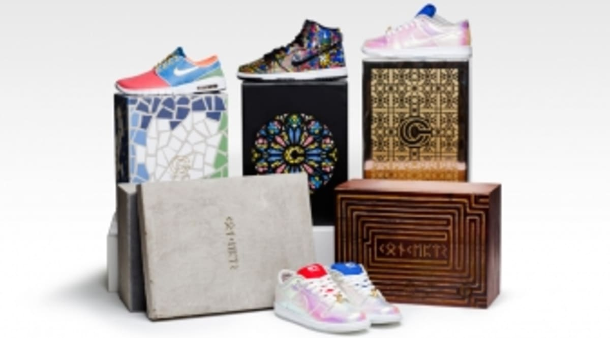 timeless design 4b489 c8bab Concepts Has Three Nike SB Collaborations Releasing This Week   Sole  Collector