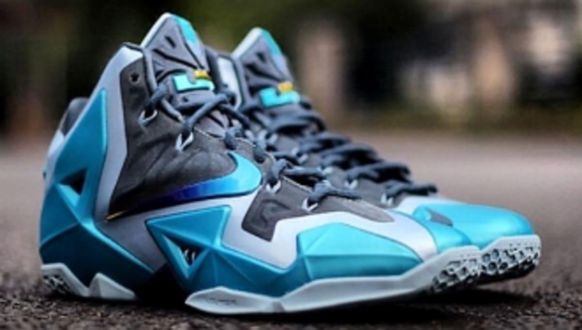 a21f6bab316 Release Date    Nike LeBron 11 - Armory Slate Gamma Blue-Light Armory Blue