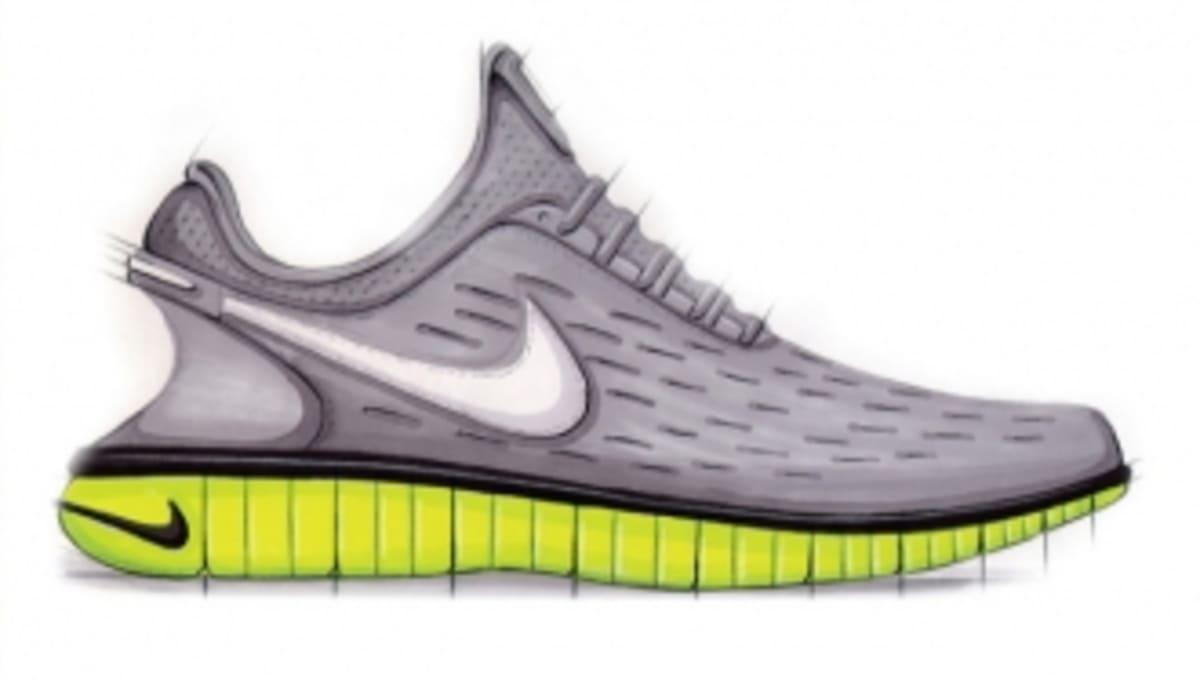 Sneaker Sketch Of The Week Eric Avar S Nike Free 5 0