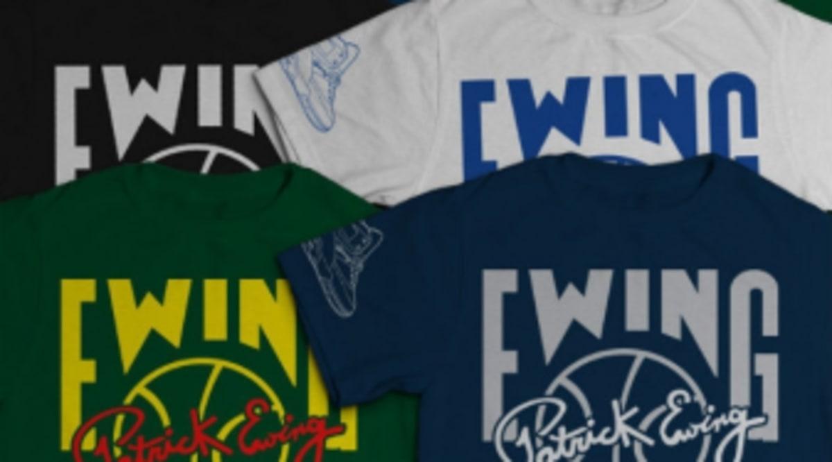 Ewing athletics jamaica georgetown t shirts for T shirt printing brandon fl
