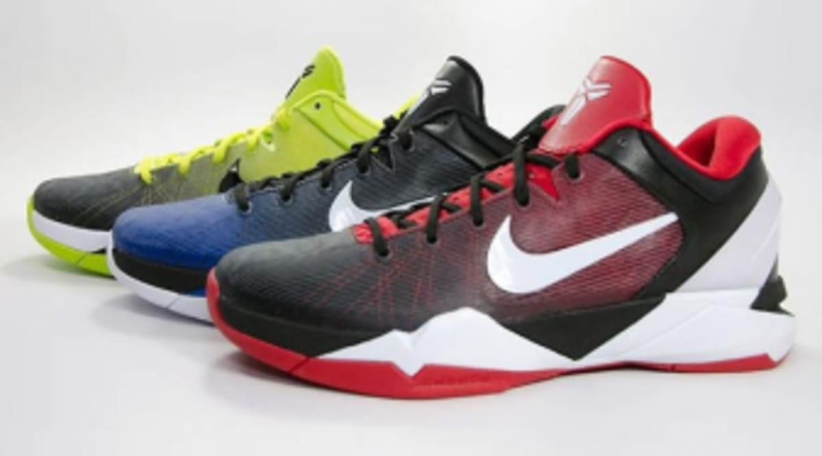 factory price 5e76b d1bd0 Nike Kobe VII System Fade Option Available on NIKEiD