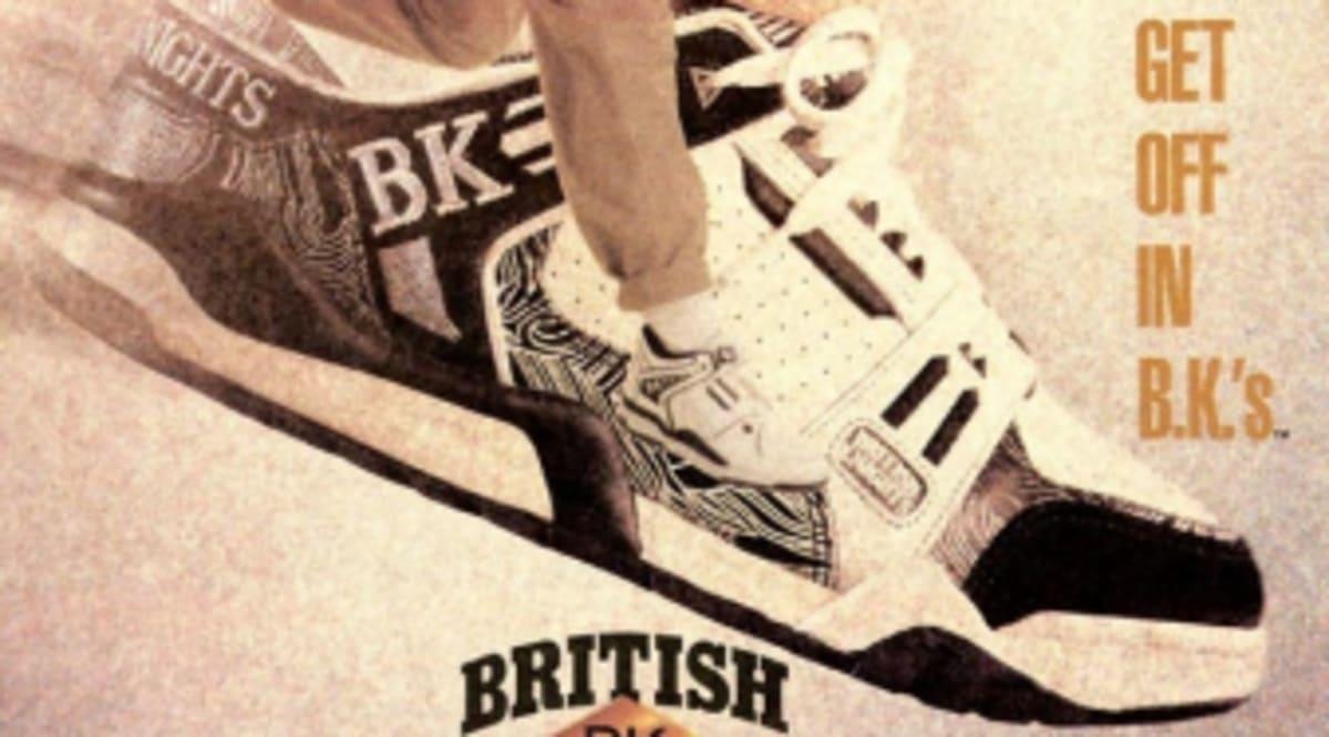 reputable site c4178 ea5a3 Vintage Ad  British Knights   Sole Collector