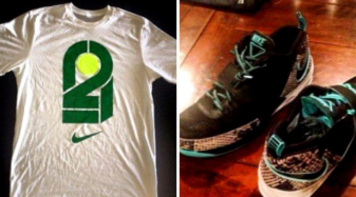 Darrelle revis unveils new nike logo zoom revis for T shirt printing brandon fl