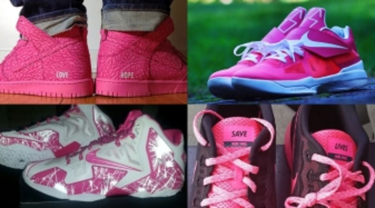 74eb952e912c8 The 50 Best  Think Pink  NIKEID Designs On Instagram