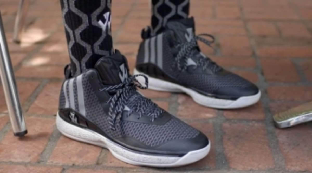 pretty nice aac88 f07c9 John Wall s First adidas Signature Shoe is Just Part of the Process.