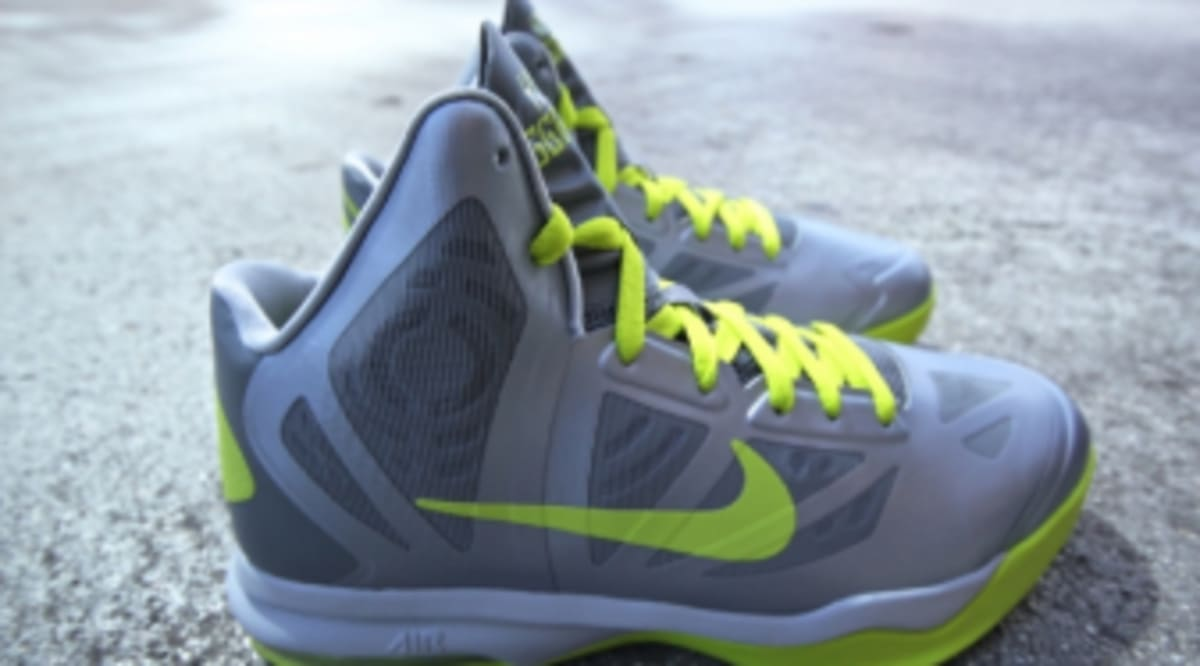 new style 58f28 e4789 ... Nike Air Max Hyperaggressor - Wolf Grey Atomic Green Sole Collector ...