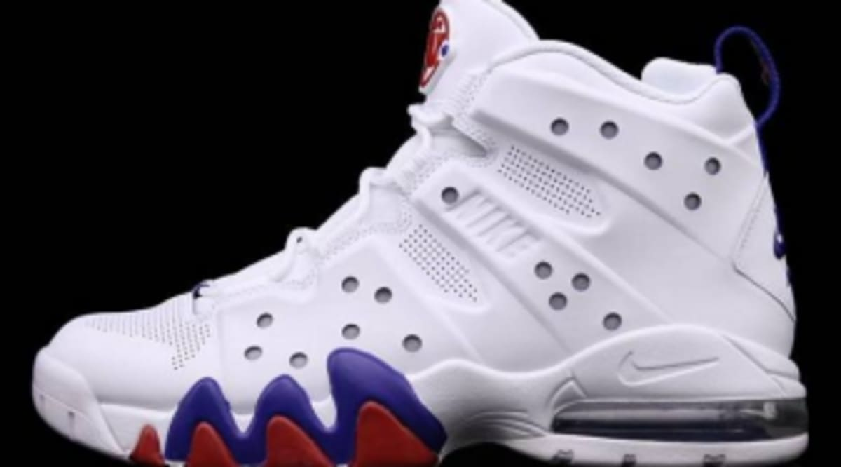 best sneakers 70c53 25394 Nike Air Max Barkley - White White-Old Royal-Gym Red