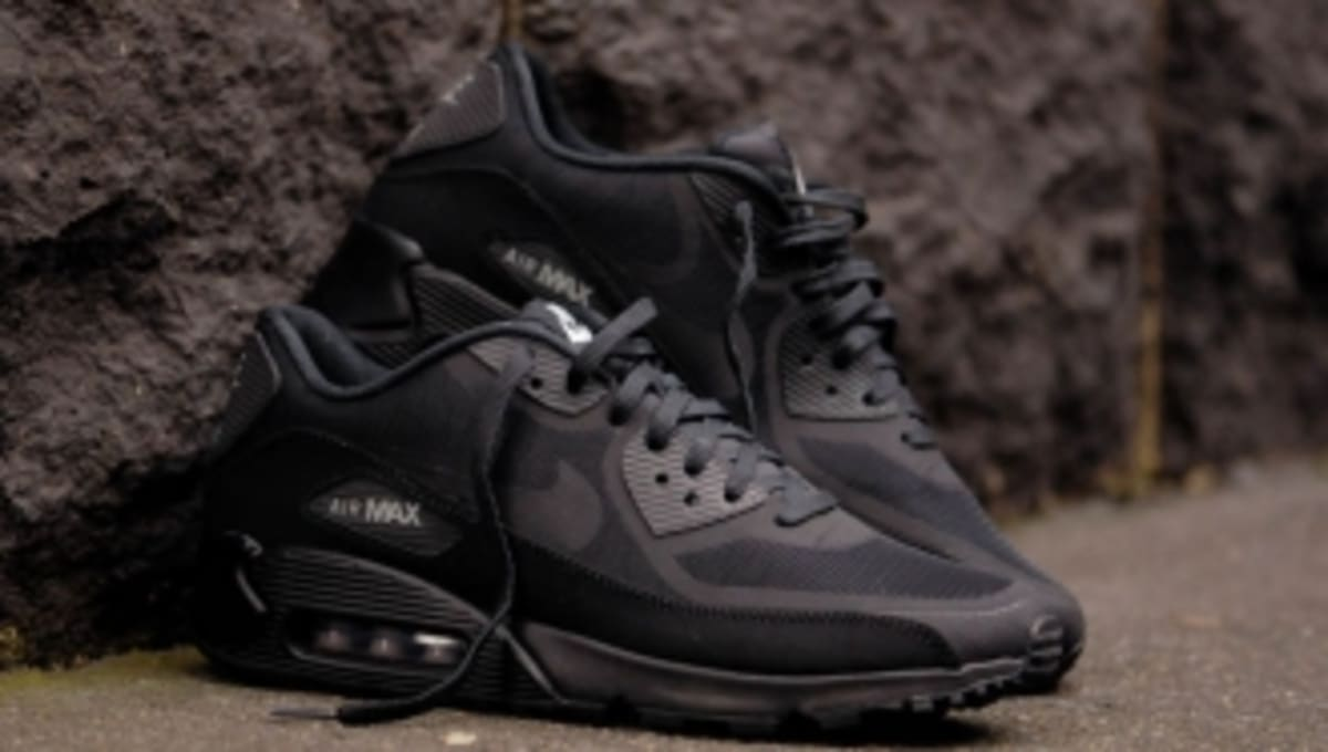 new concept cd1ce 7d039 Nike Air Max 90 CMFT PRM Tape 'Reflective Pack' Black | Sole Collector