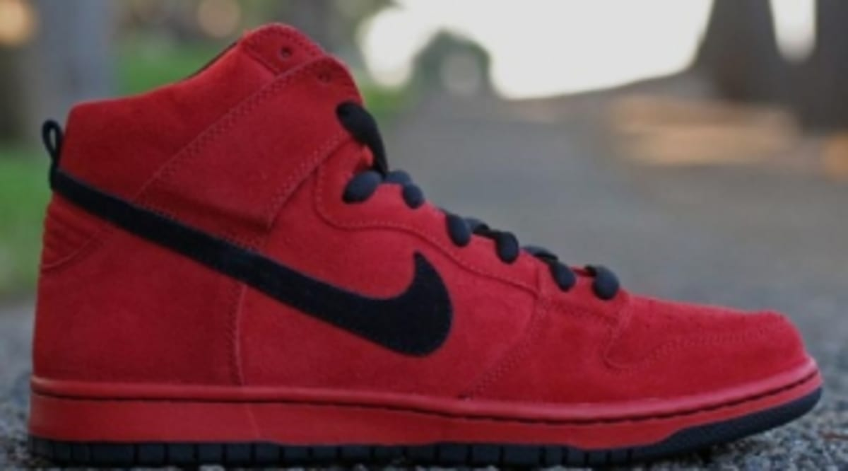 check out a4eaa 08381 Nike SB Dunk High -  Red Devil  - New Images   Sole Collector