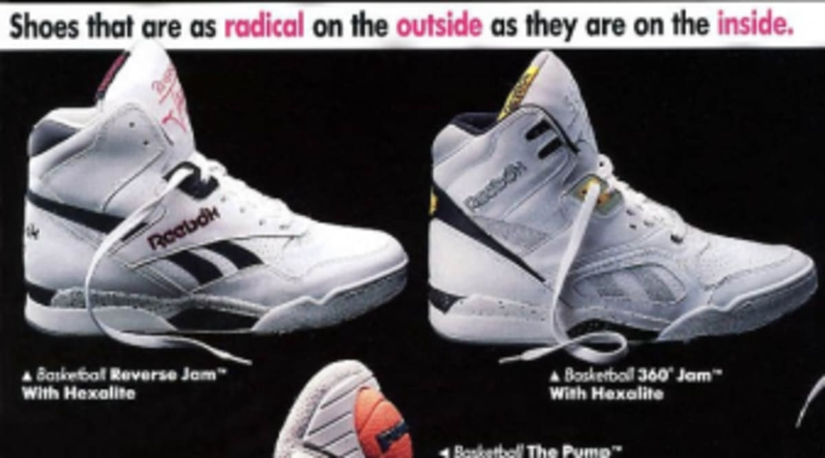 9cd5dba873 Vintage Ad Special Feature: Reebok Ad Insert | Sole Collector