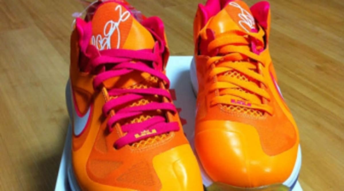 new arrival 97ea6 10609 Nike LeBron 9 Low - Floridians   Sole Collector