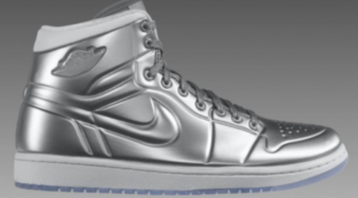reputable site 97389 9af7d ... Available Air Jordan 1 Anodized - Metallic SilverWhite Sole Collector  ...