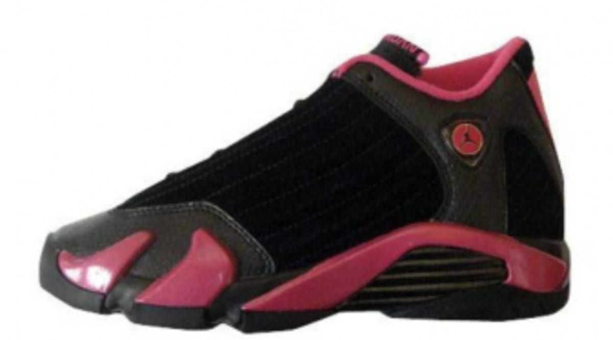 acd3e345eab4 Air Jordan Retro 14 GS - Black Desert Pink