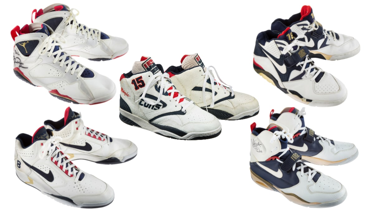e174e128115 A Bunch of 1992 Dream Team Sneakers Are Being Auctioned Off | Sole ...