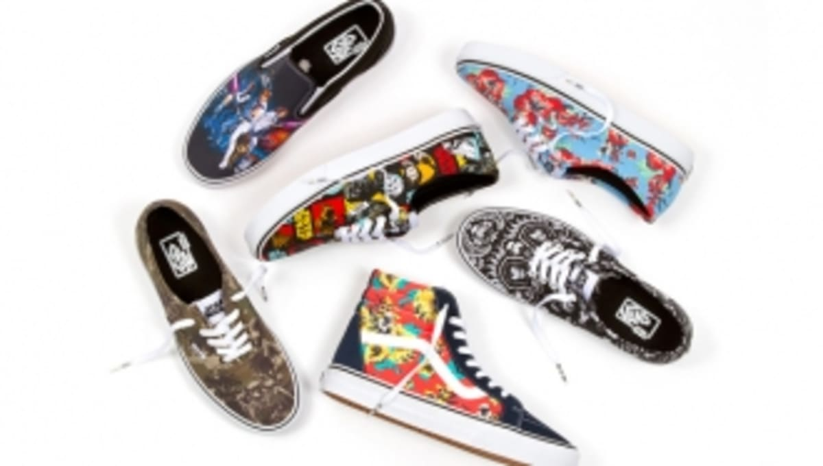 5ffa4d08e3 Star Wars and Vans Use the Power of the Force for New Collection ...