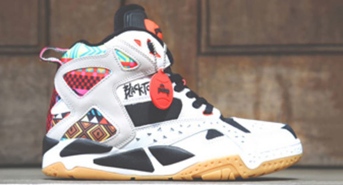 b13ed835c126 Reebok Blacktop Battleground Pump  Geometric Pattern
