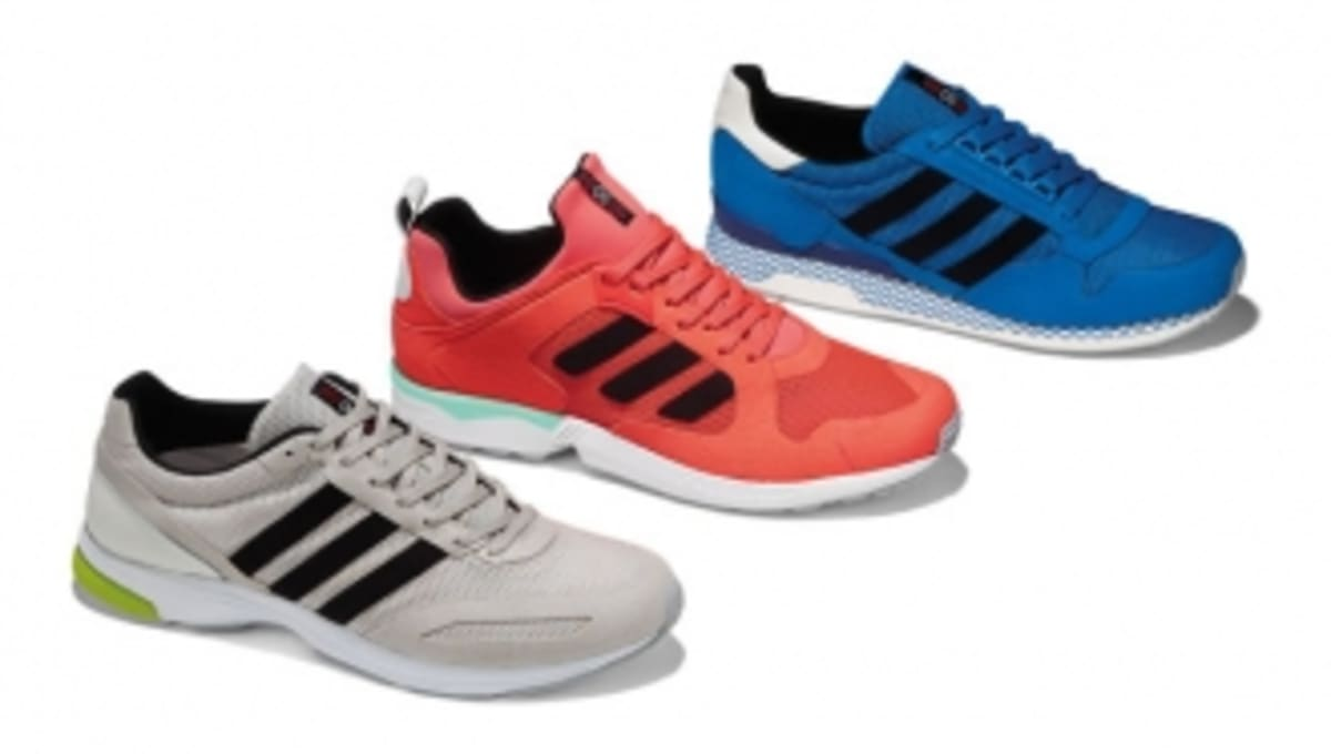 the best attitude 87627 0dcf3 adidas Originals Run Thru Time Collection -  90 s Pack   Sole Collector