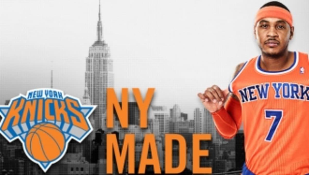 a17be86534e1 New York Knicks Unveil Orange Alternate Jerseys