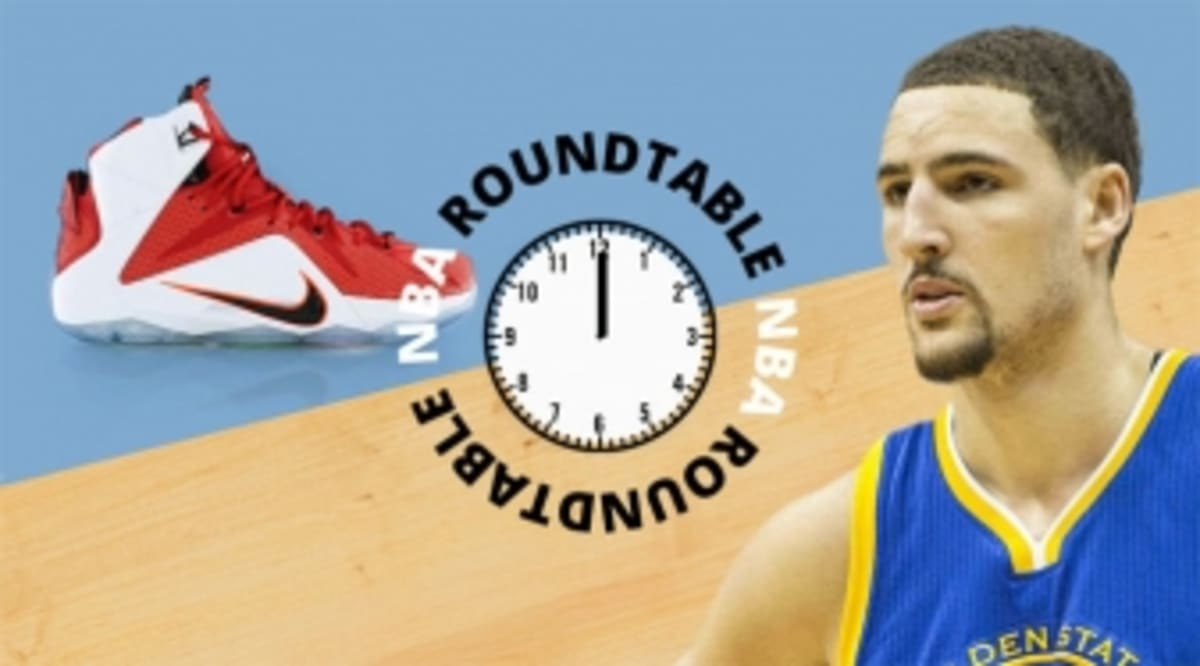 NBA Roundtable: How Many Times Do You Play in the Same Shoe?