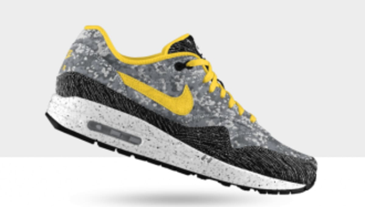 new product 678d7 393cf Nike Air Max 1 Premium iD  Camo Jacquard     Zig Woven  Options   Sole  Collector