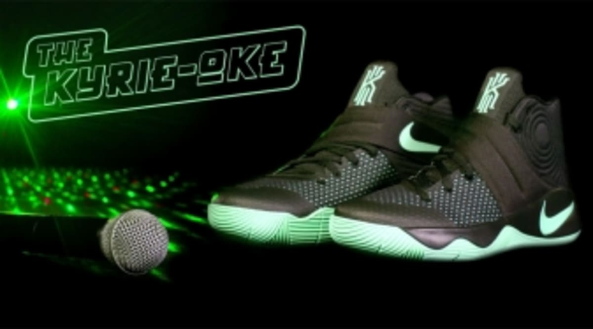 timeless design f3190 cd2de Kyrie Irving Sings Kyrie-oke for the Nike Kyrie 2   Sole Collector