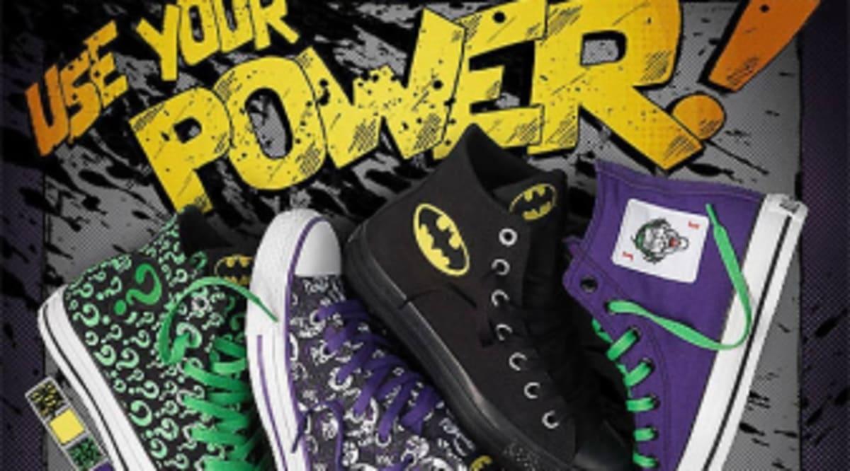 dff10cad7c68 Design Your Own DC Comics x Converse Sneakers