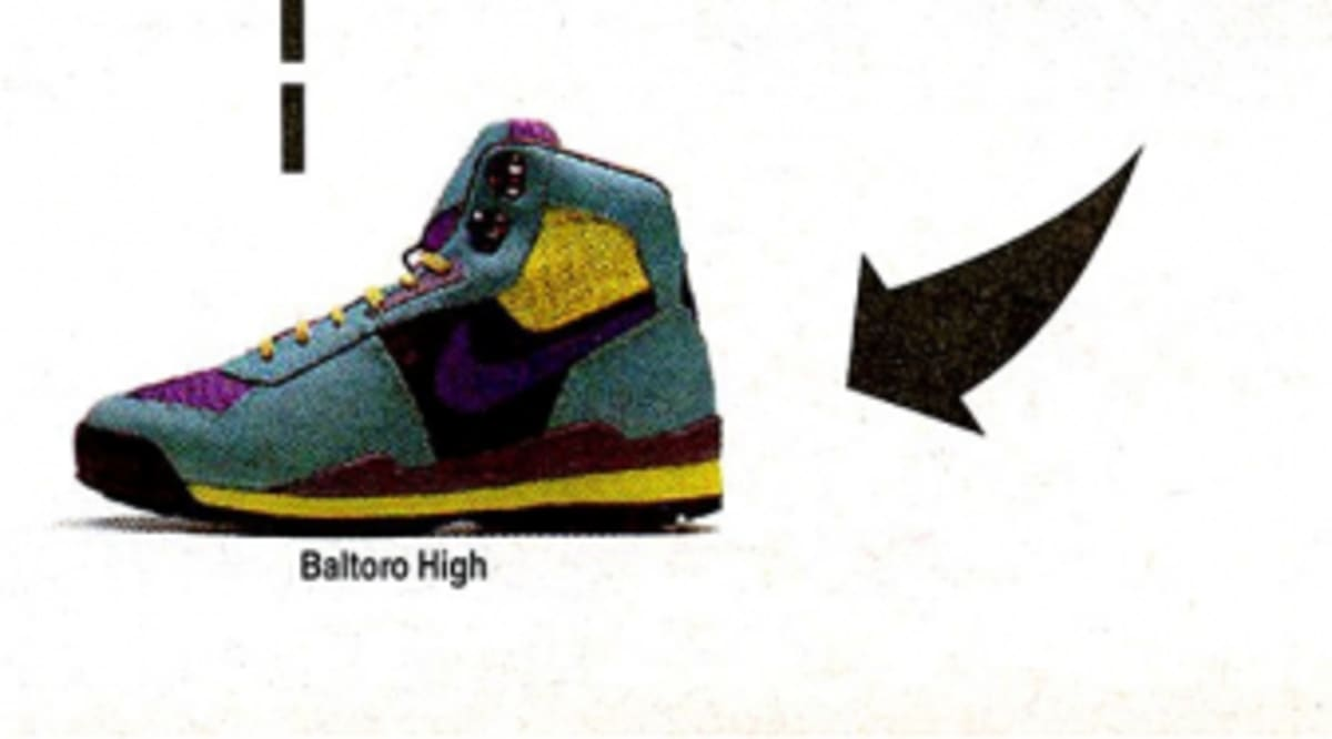 info for 5ad75 ec15c Vintage Ad The Baltoro Boot from Nike Hiking  Sole Collector