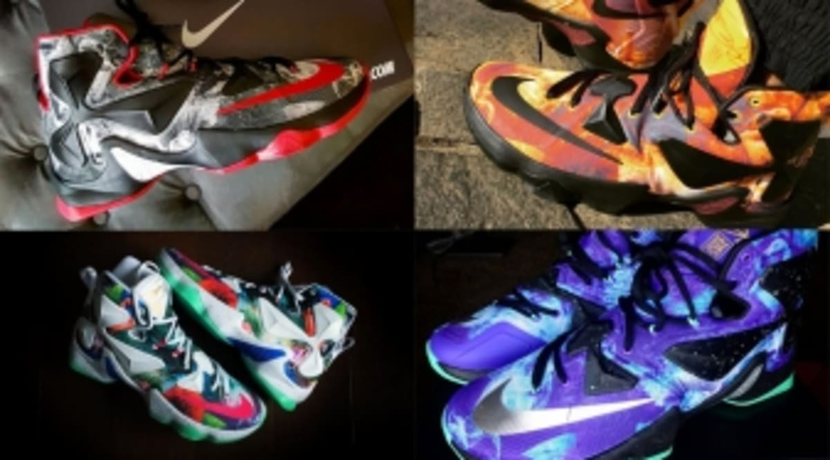 promo code fdb92 1128b The 50 Best  25K  LeBron 13 NIKEID Designs On Instagram   Sole Collector