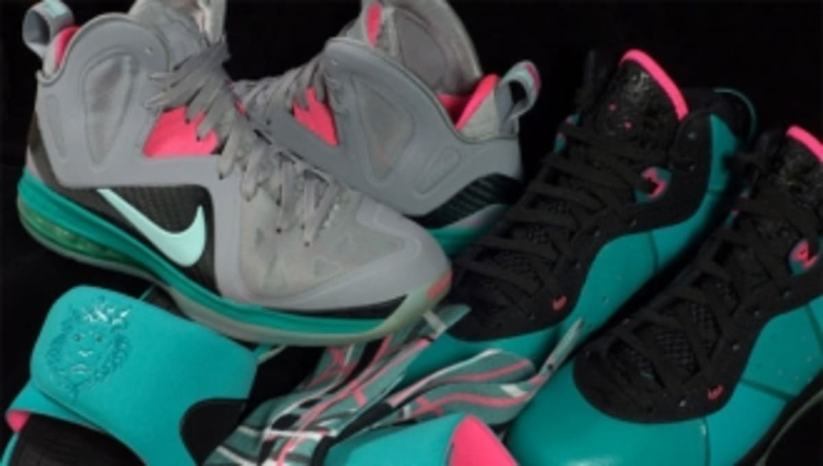 6e6e09ed745 A History of South Beach Nike LeBron Shoes