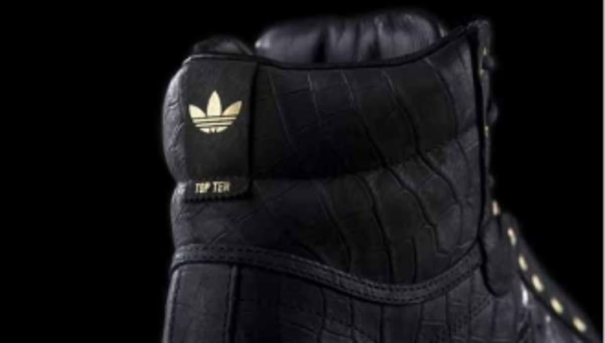 new concept 145a8 2d2d9 2 Chainzs adidas Originals Top Ten 2 Good to be T.R.U. Unveiled  Sole  Collector