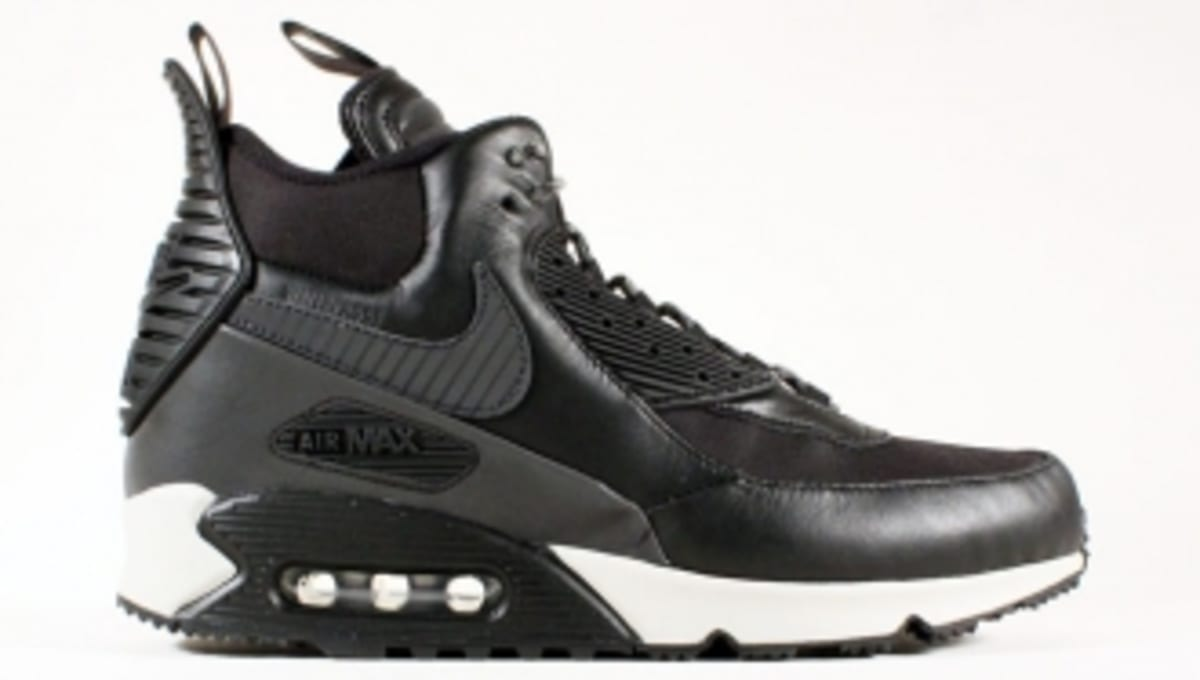 best service 362f0 72058 Nike Air Max 90 Sneakerboot - Black Magnet Grey
