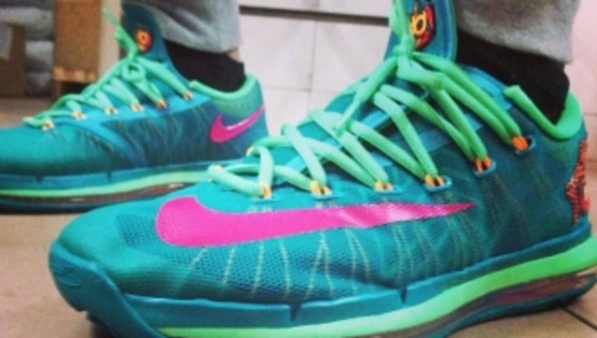 outlet store 38bd8 42118 Nike KD 6 Elite  Turbo Green  Release Date   Sole Collector