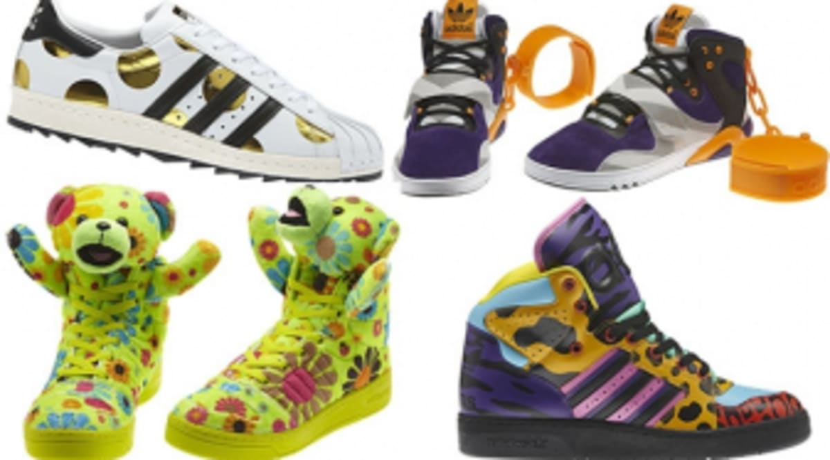 cheap for discount ea050 f109a adidas Originals by Jeremy Scott Fall Winter 2012 Footwear Collection