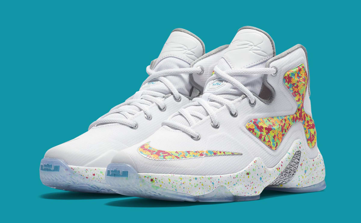 Fruity Pebbles Lebron 13 Sole Collector