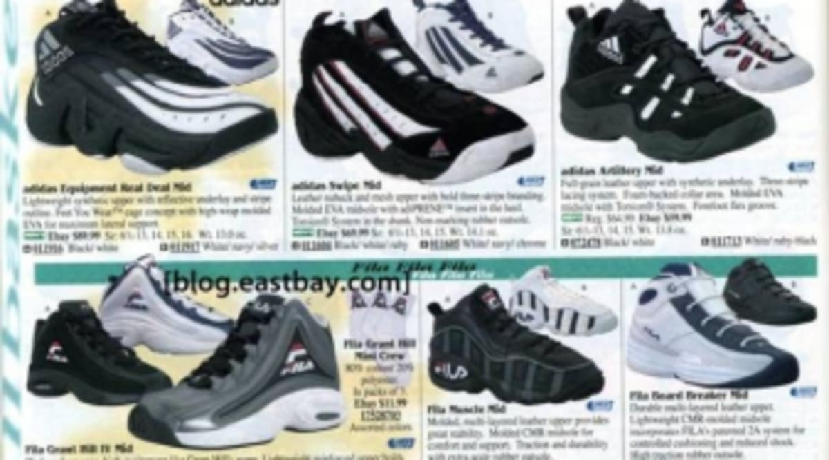 fb2727388c8 Eastbay Memory Lane  1998 Basketball Shoes