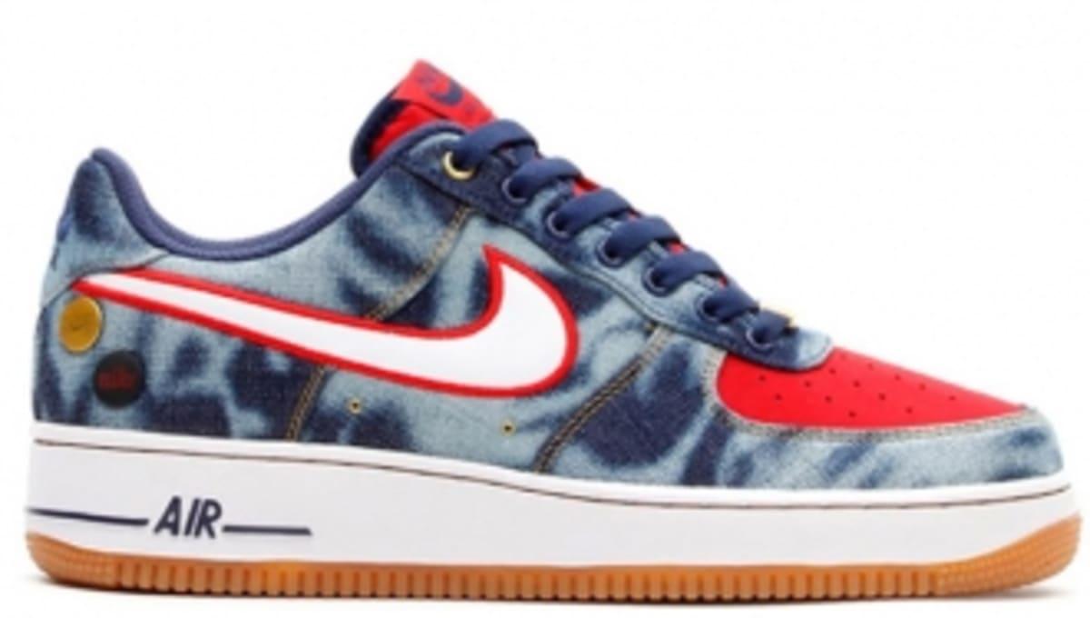 471b72785d533 Nike Air Force 1 Low - Acid Wash Denim