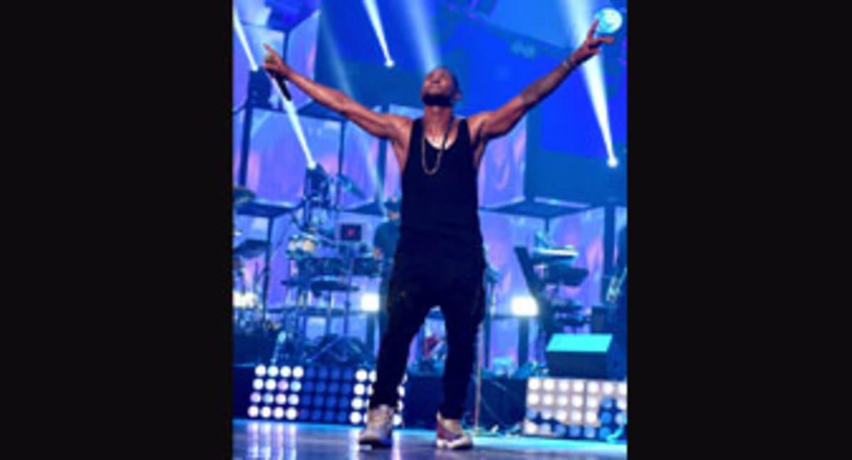 9687b43ad0c2 Has Anyone Danced In More Exclusive Air Jordans Than Usher