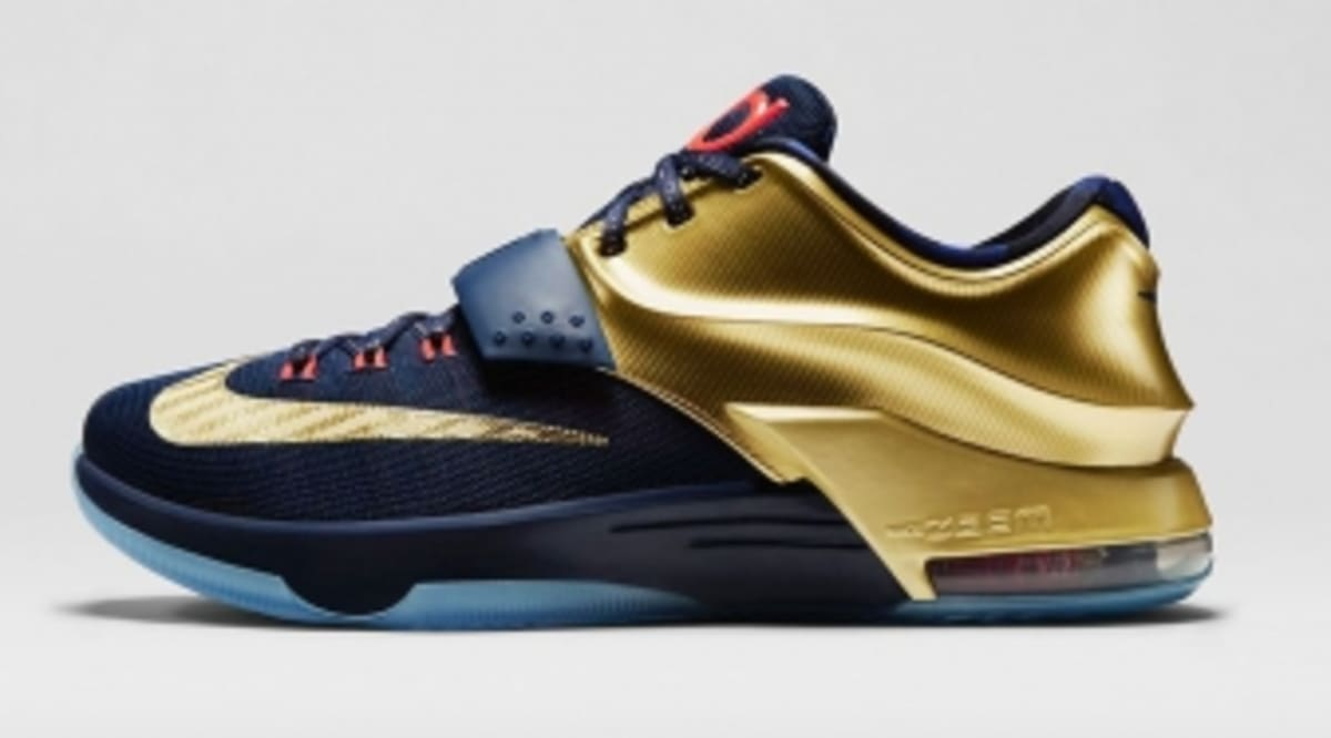 333a2c8e32de An Official Look at the  Gold Medal  Nike KD 7