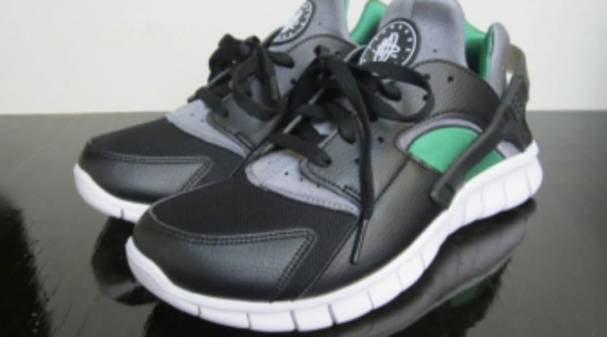 info for caaae b034c ... Nike Huarache Free Run - Black Cool Grey-Dark Pine Sole Collector ...