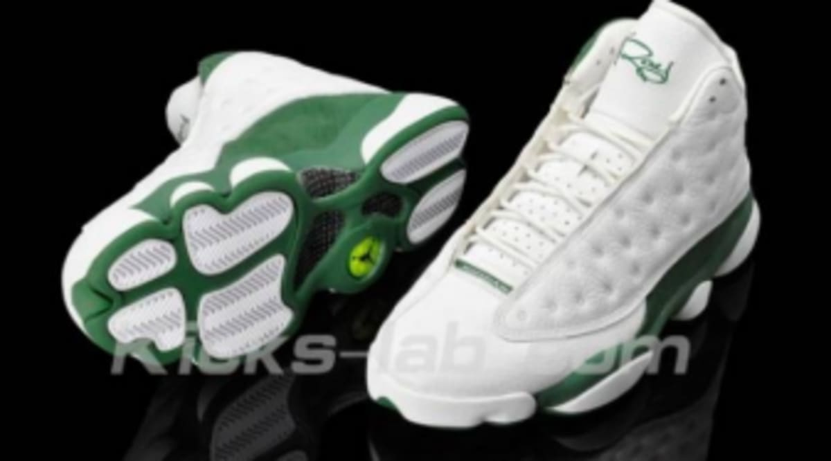 Air Jordan Retro 13 - Ray Allen Three-Point Record Player Exclusive - New  Images 1ddc2169d