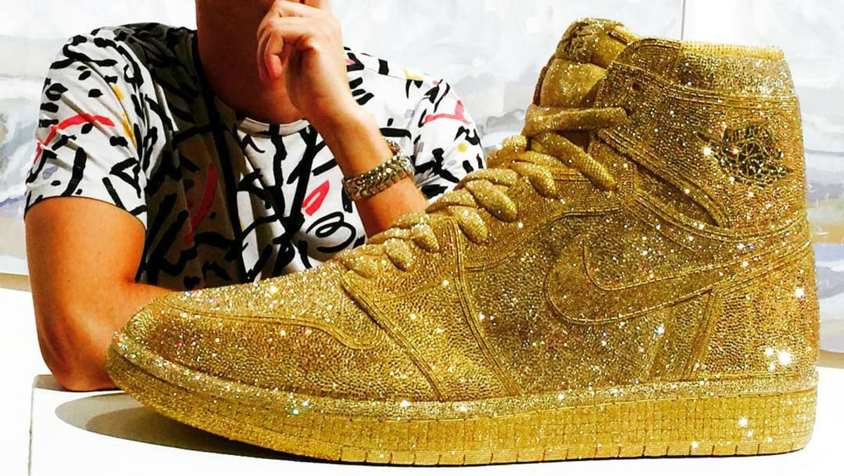 Crystal Air Jordan 1 by Daniel Jacob  3aa0c073ad