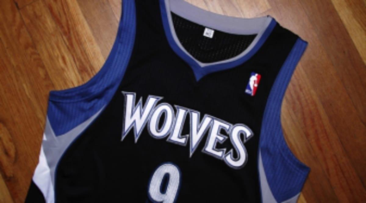Jersey Spotlight Ricky Rubio Minnesota Timberwolves