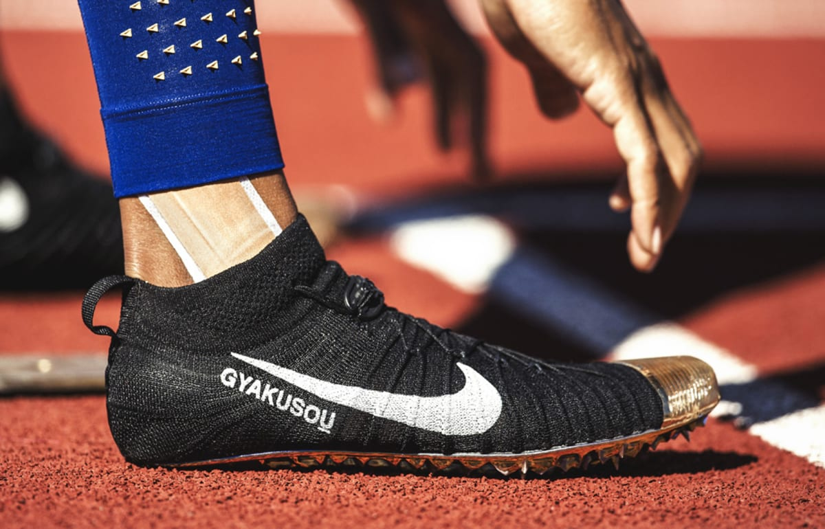 Allyson Felix Nike Gyakusou Olympic Trials Spikes | Sole ...