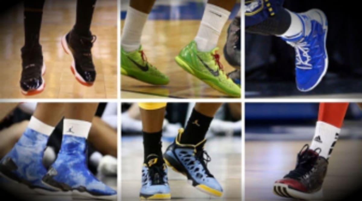 9842ae31faae NCAA Sneaker Watch    Sweet 16 Brand Breakdown
