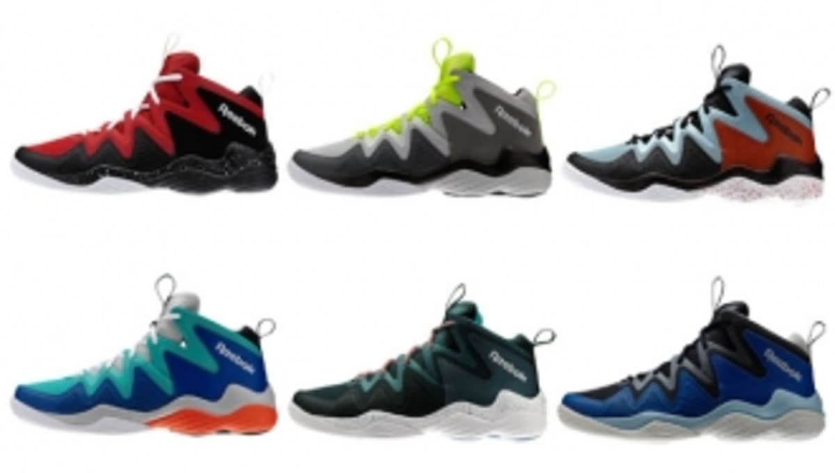 1fd83e3a9d3 Six Colorways of the Reebok Kamikaze 4