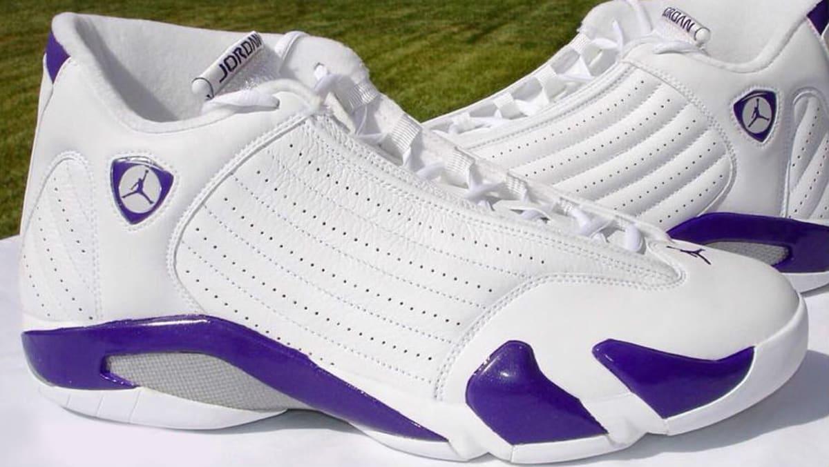 ... coupon code for bobby simmons air jordan 14 purple bucks pe sole  collector 94e78 e7624 60083e9b6