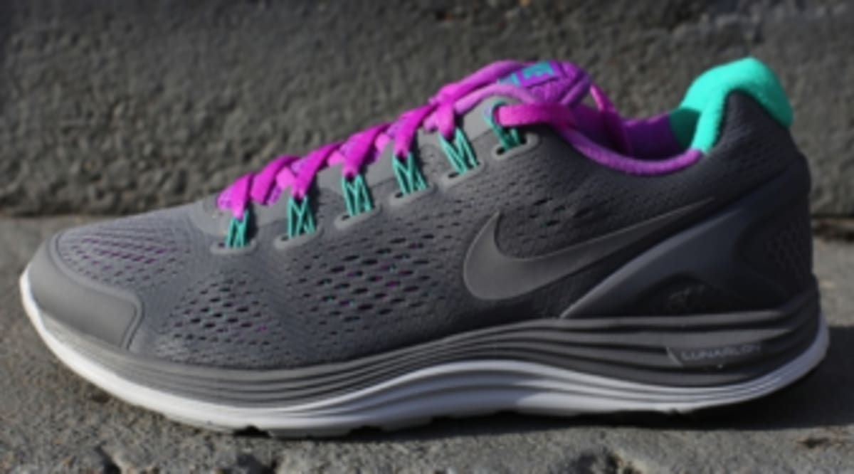 new products 8899a c1b25 Nike WMNS LunarGlide 4 - Cool Grey Laser Purple   Sole Collector